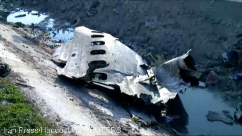 Iran: Un avion ucrainean s-a prăbuşit după decolarea de la Teheran