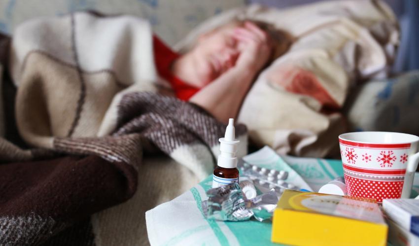 В Бельцах в два раза увеличилось число заболевших ОРВИ и ОРЗ