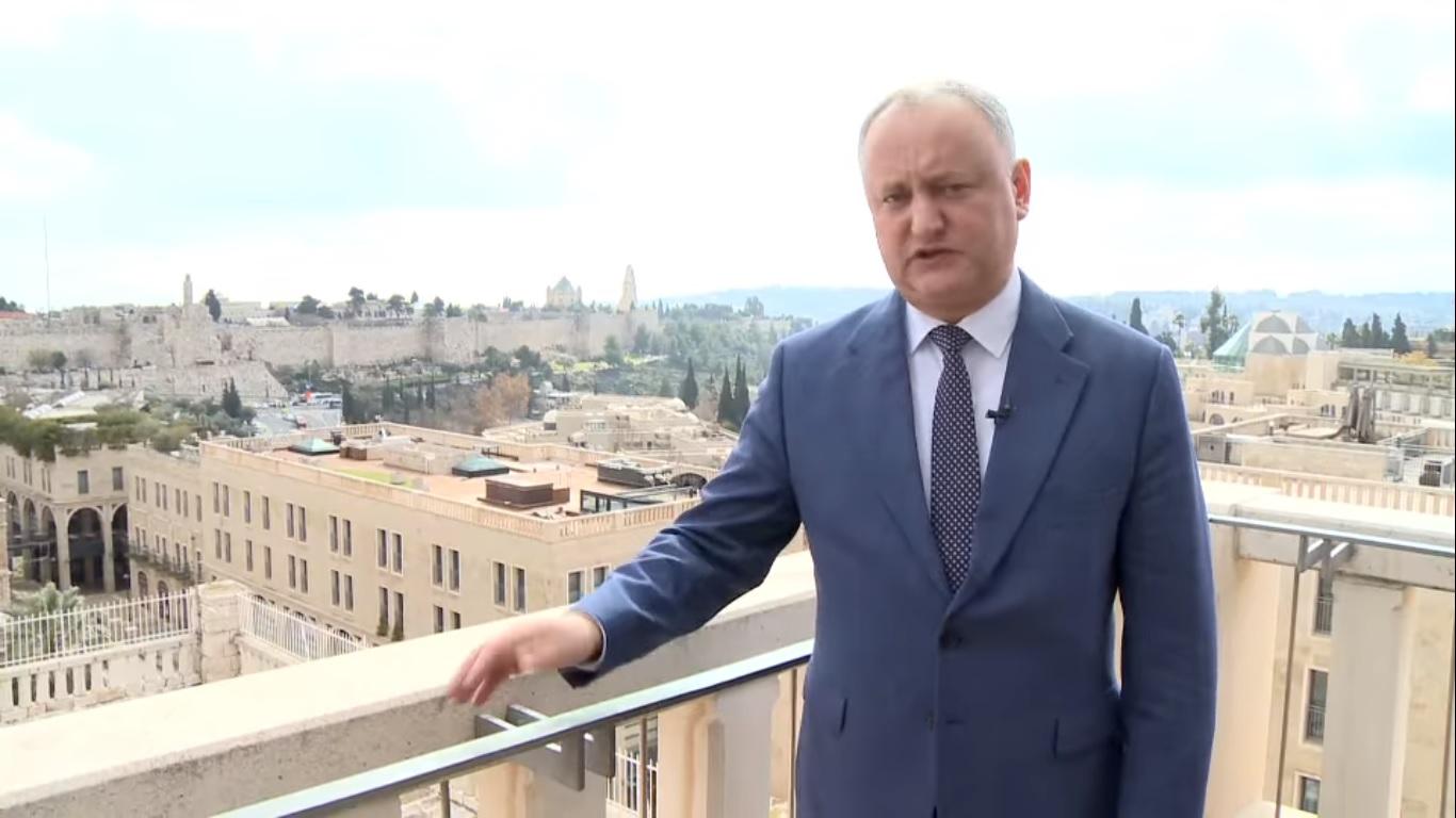 DOC | Președintele Igor Dodon va fi verificat de ANI, după ce s-a aflat despre vacanțele de lux ale familiei sale