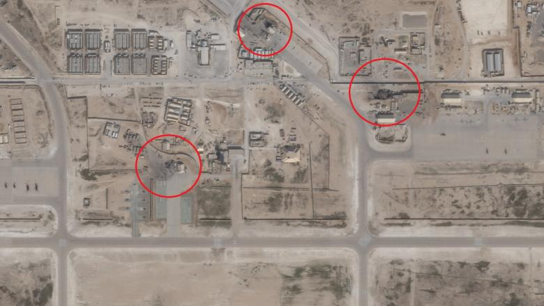 Foto Imagini Din Satelit Arată Pagubele Produse Intr O Bază