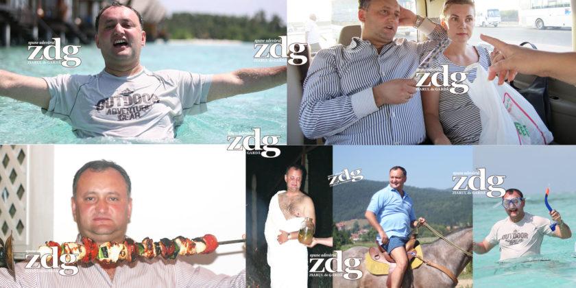 FOTO/VIDEO | Vacanțele de lux ale președintelui