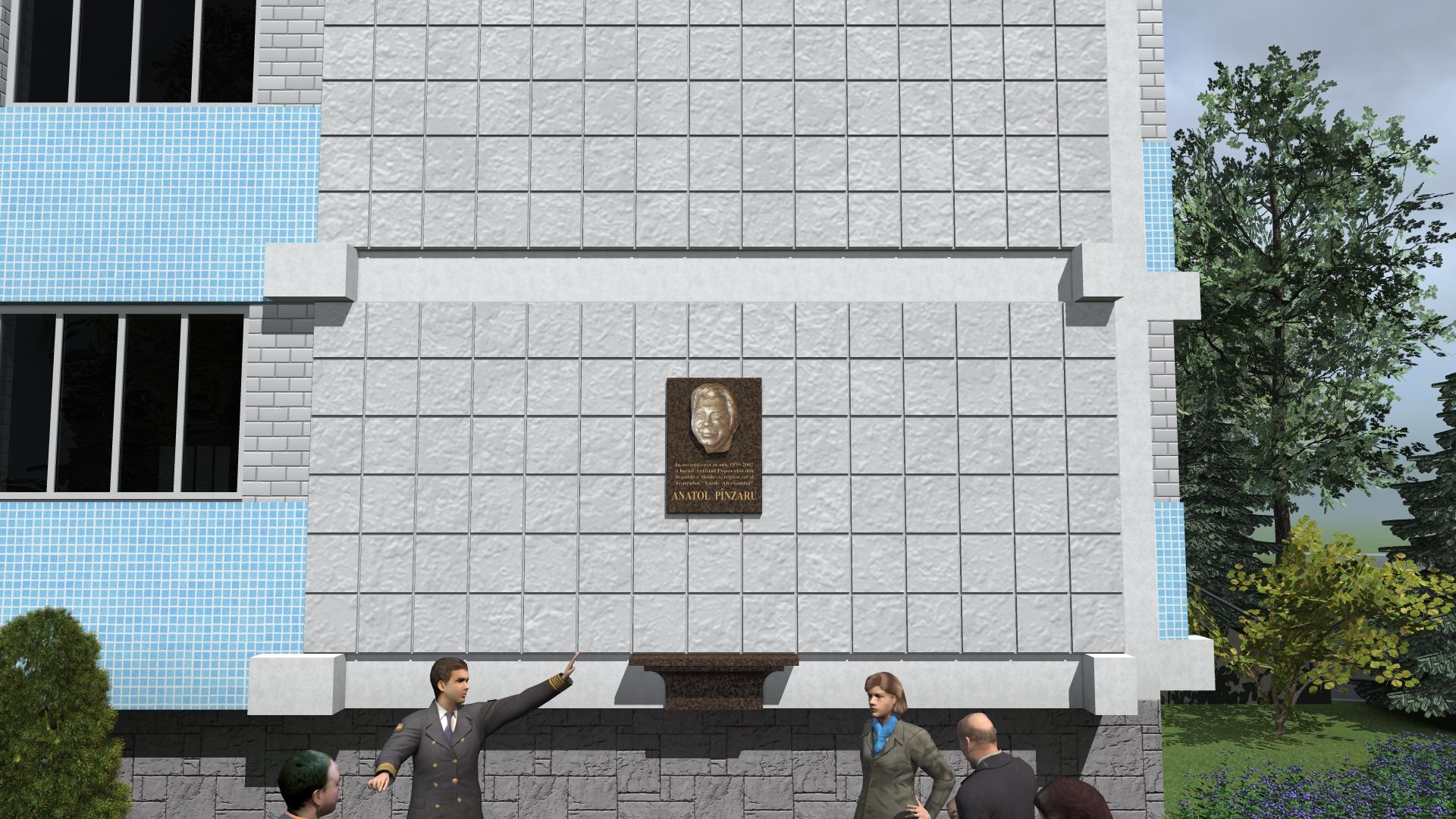 VIDEO | La Bălți va fi înființată o placă comemorativă în memoria lui Anatol Pânzaru