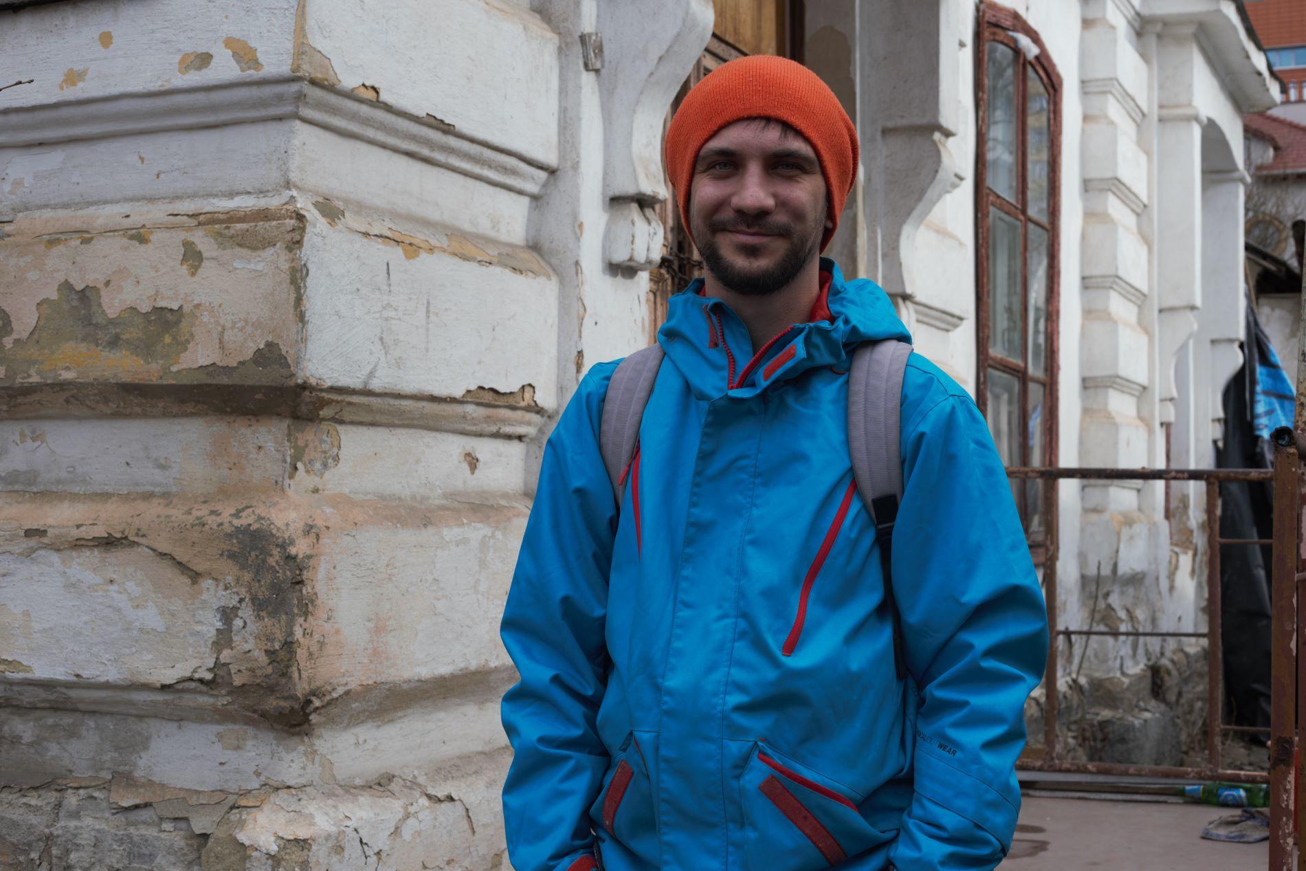 FOTO   Alexandru Țibari, un creator între restaurare și reconstrucție. Cum a contribuit un proiect european la pasiunea unui arhitect moldovean