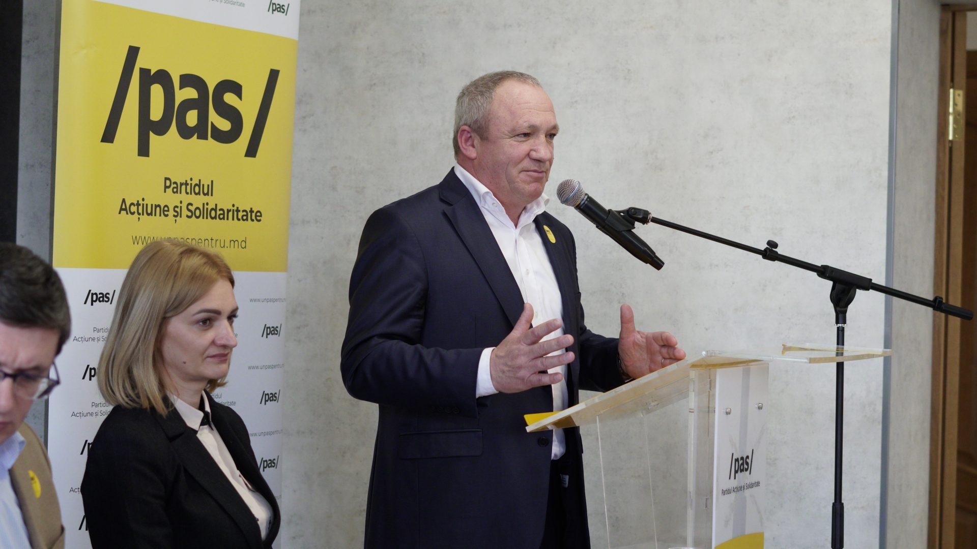 Oraganizația Teritorială PAS Bălți și-a ales conducerea. Președinte a fost ales consilierul municipal Boris Marcoci