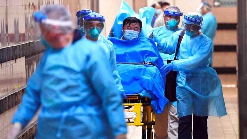 Число заболевших коронавирусом в Китае составляет почти 14,5 тысяч человек