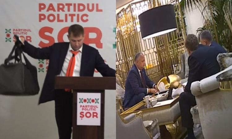 Anatol Moraru // Elita noastră politică între geantă, filmulețe și plicuri