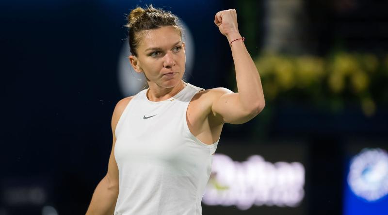 Simona Halep, campioană la Dubai, după un meci dramatic cu Elena Rybakina