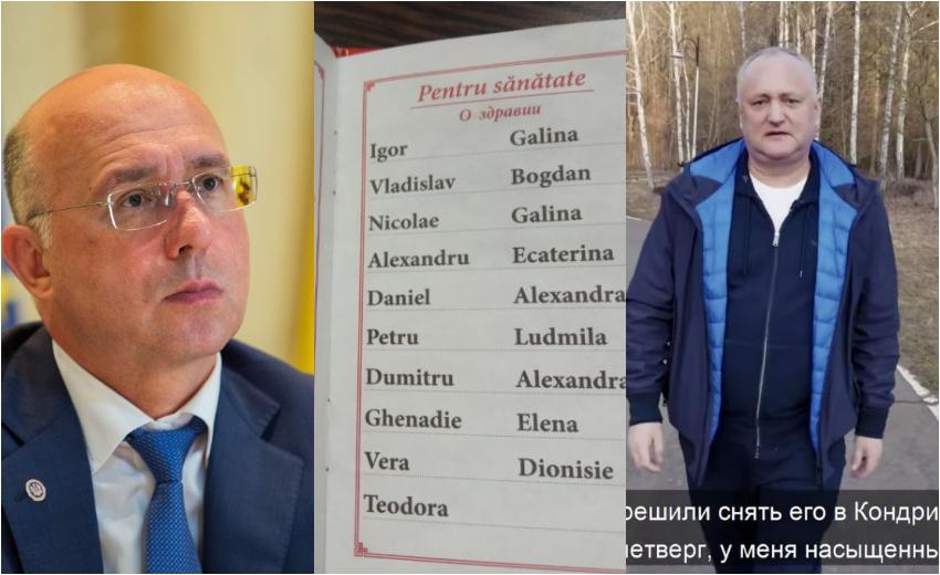 Anatol Moraru // Filip se teme să nu rămână fată bătrână, iar Dodon editează pomelnice