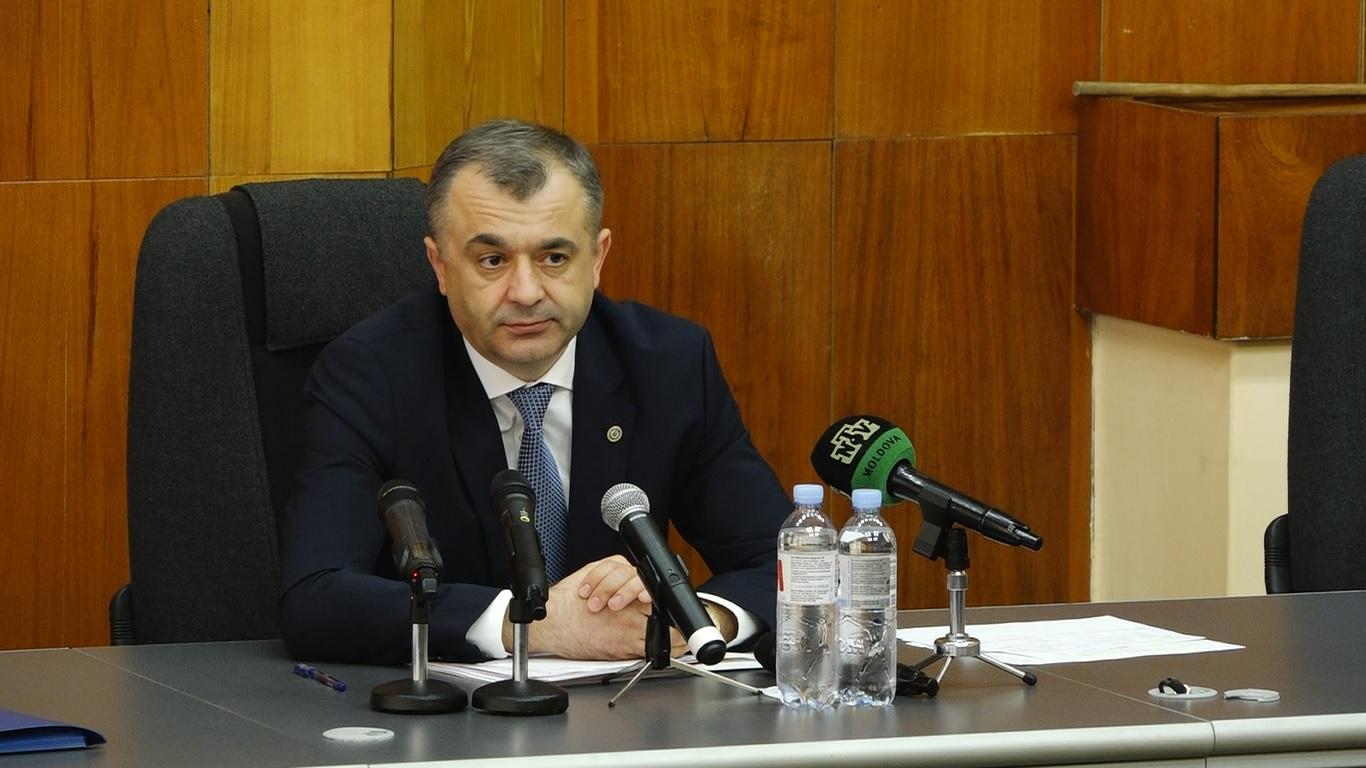 Ion Chicu: Republica Moldova va primi prima tranșă din creditul oferit de Rusia, în luna martie