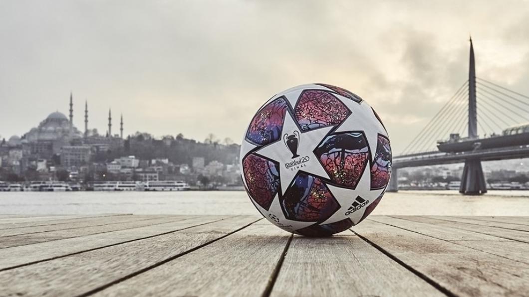 FOTO | UEFA a prezentat mingea oficială a finalei Ligii Campionilor din acest an, de la Istanbul