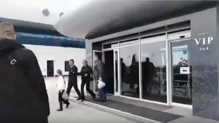 VIDEO | Krasnoselski, VIP la Chișinău. A venit cu familia de la odihnă din Egipt