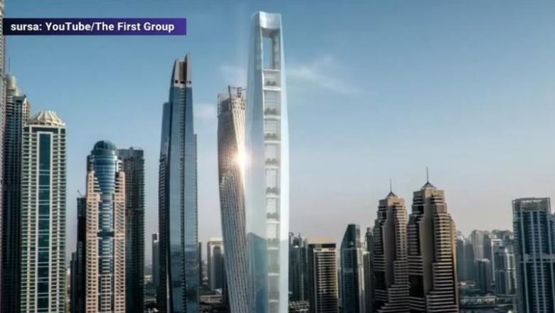 VIDEO | Cum va arăta cel mai înalt hotel din lume. Va fi inaugurat în 2023