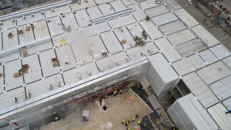 FOTO | Cum arată în interior spitalul construit în 10 zile de chinezi pentru pacienții cu coronavirus. Primii bolnavi au fost deja internați