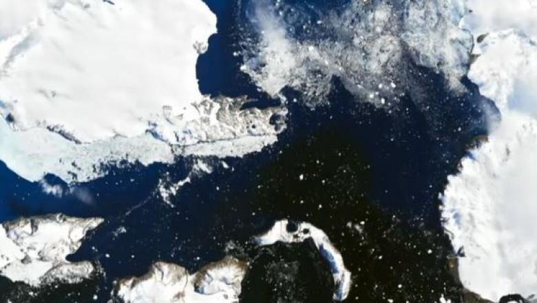 Imagini dramatice făcute publice de NASA: Încălzirea globală lasă Antarctica fără gheață