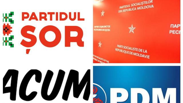 Cât au cheltuit partidele politice pentru presă şi promovare în anul 2019. PSRM se află pe primul loc