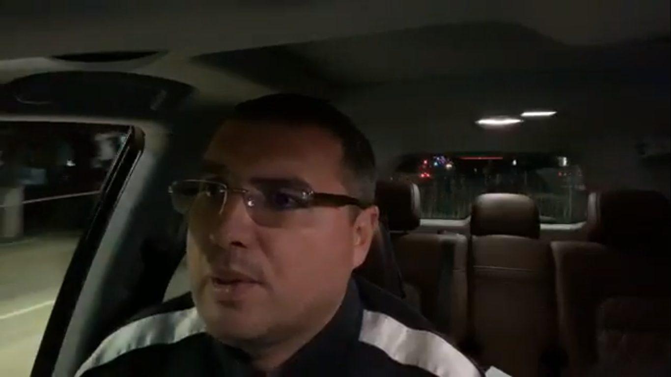 VIDEO | Primarul de Bălți, Renato Usatîi, conduce fără centura de siguranţă cuplată și înjură ca un birjar