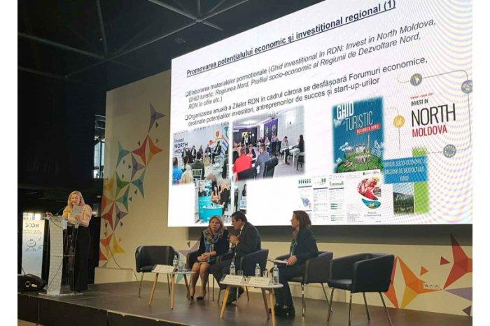 """Potențialul economic din nordul republicii, prezentat la Forumul Internațional de Afaceri """"Moldova 2020"""""""