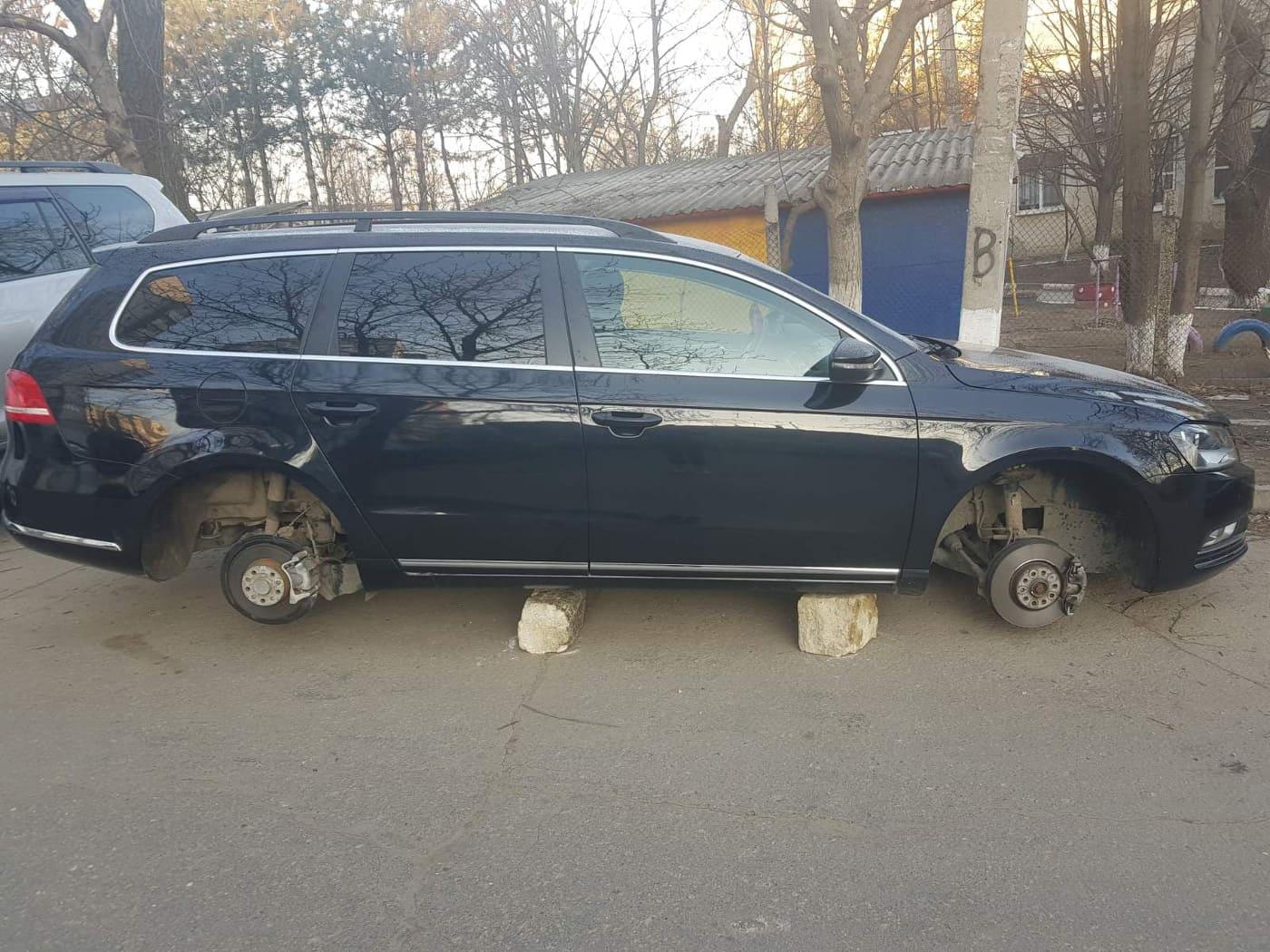 VIDEO | Hoții de piese auto au spart peste 200 de mașini la Bălți