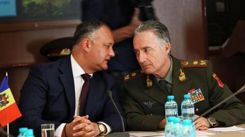 Pe timp de pandemie, Dodon i-a acordat titlul de General de Divizie ex-ministrului Apărării, Victor Gaiciuc
