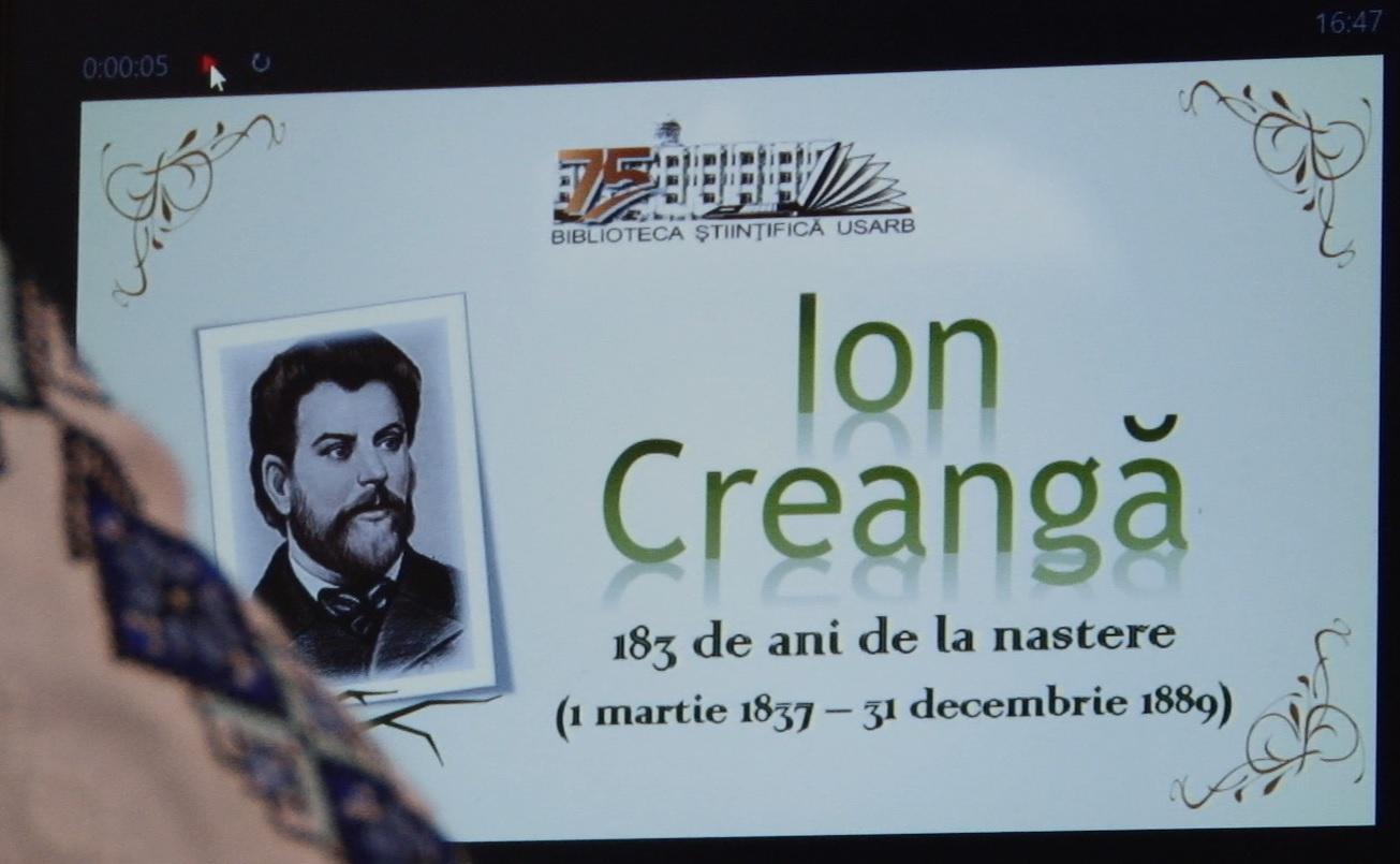 VIDEO | Ion Creangă, omagiat de studenții unui colegiu din Bălți, care poartă numele scriitorului