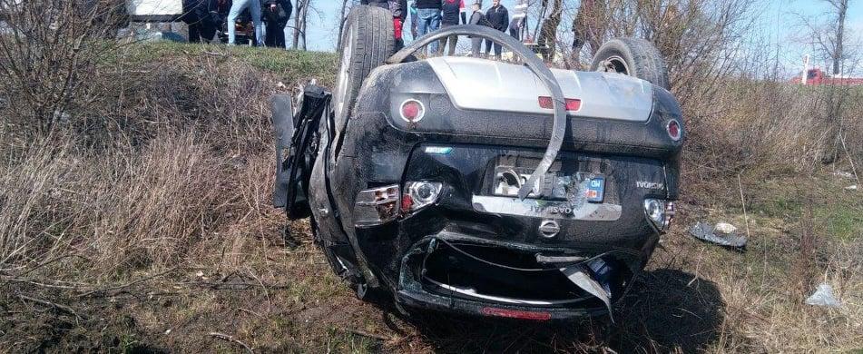 O tânără de 19 ani și o femeie de 55 de ani au murit într-un grav accident la Edineț