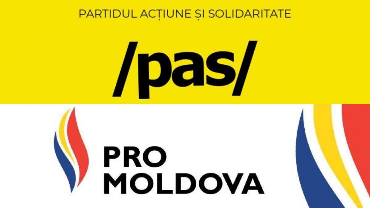 Reacțiile PAS și Pro Moldova la decizia PSRM de a negocia o coaliție cu PD
