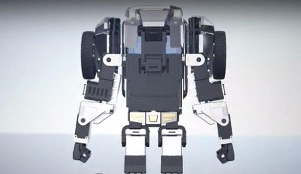 Robotul care îşi schimbă forma prin comandă vocală