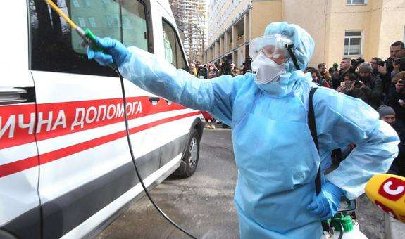 Primul caz de coronavirus, confirmat în Ucraina