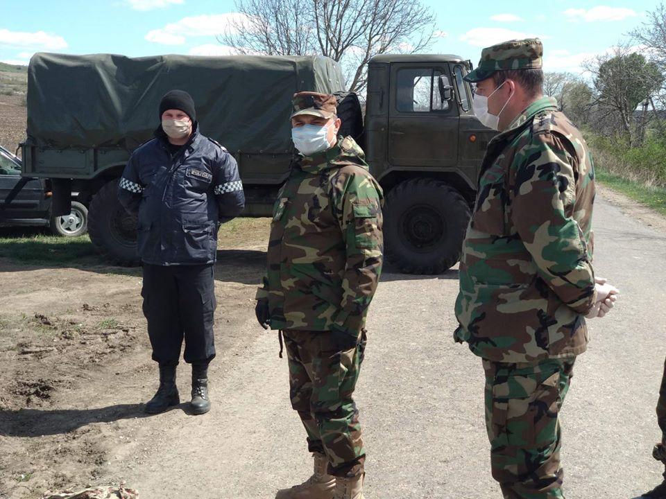 ФОТО | Село Брынзены Единецкого района закрыли на карантин