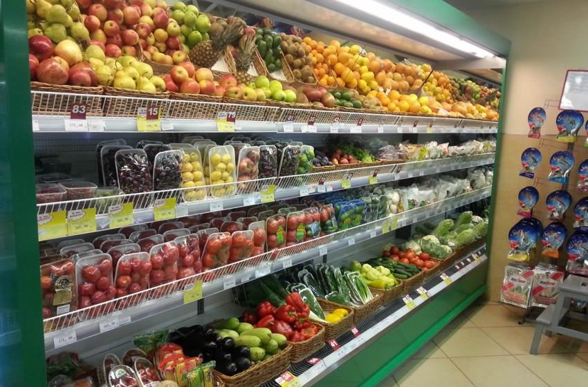 В марте-апреле супермаркеты Молдовы увеличили товарооборот свежих овощей и фруктов на 15%