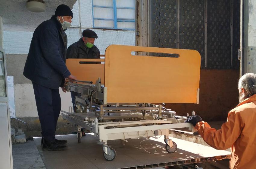 ФОТО/ ВИДЕО   Бельцкая больница получила гуманитарную помощь из Дании