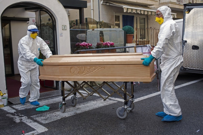 В Италии российские медики увидели «странные» случаи смерти от COVID-19