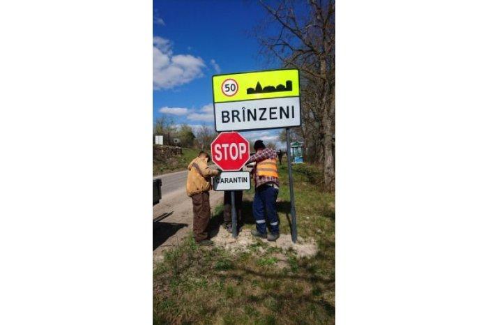 VIDEO | Certuri și amenințări la intrarea în satul Brînzeni, raionul Edineț. De COVID-19 nu a scăpat nici primarul