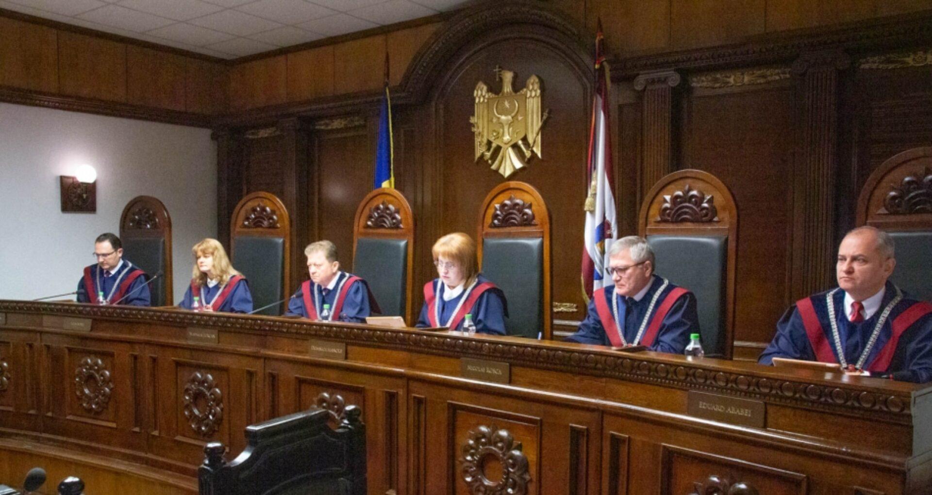 Domnica Manole a fost aleasă în calitate de Președinte al Curții Constituționale