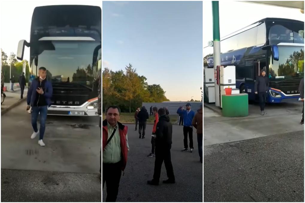 Autocarele cu moldovenii blocați la hotarul dintre Franța și Germania s-au pornit acasă