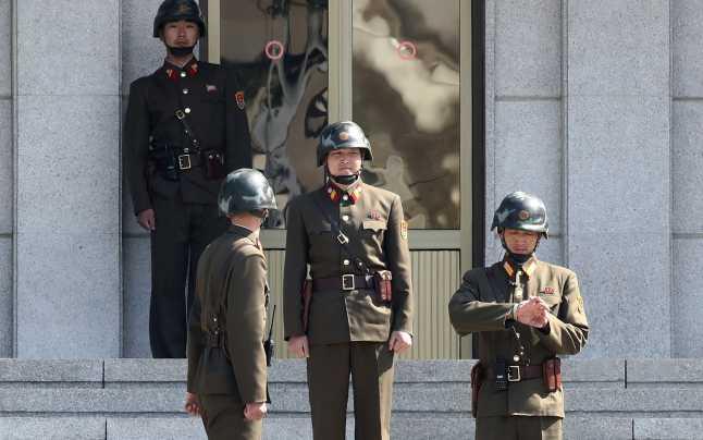 Schimb de focuri de armă la frontiera intercoreeană