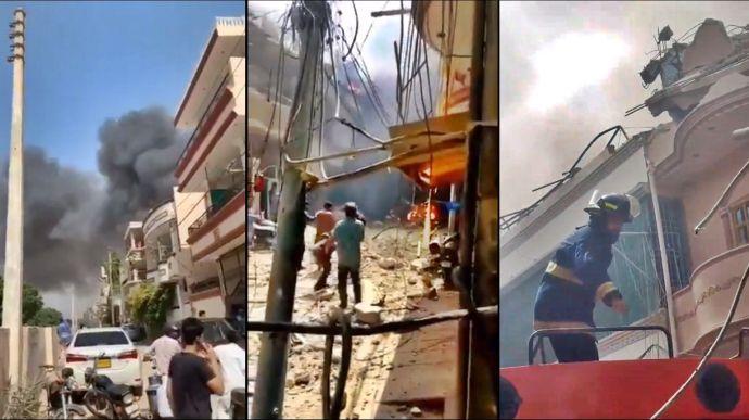 VIDEO   Un Airbus 320 cu pasageri la bord s-a prăbușit în Pakistan