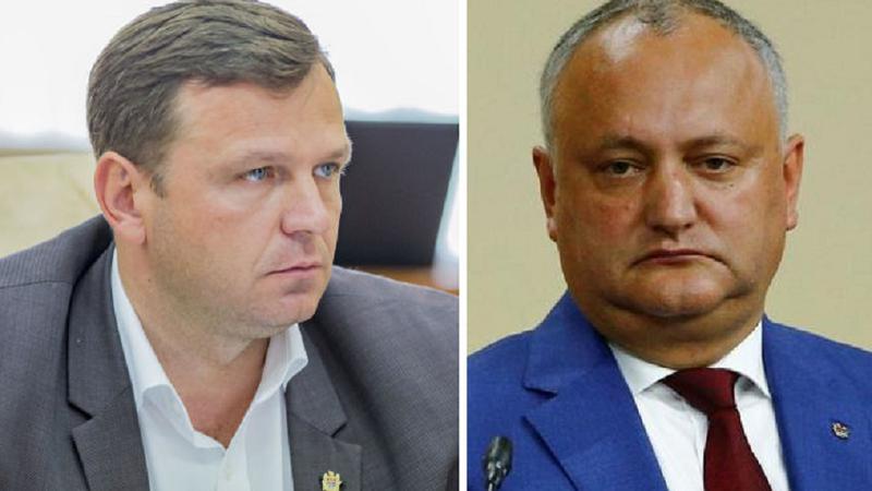 Andrei Năstase către Dodon: De astăzi înainte, îți interzic să îmi mai pronunți numele