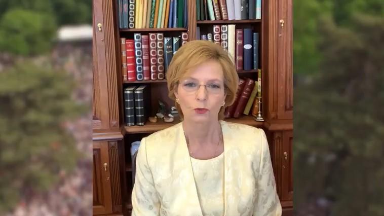 VIDEO | MS Margareta, de 10 Mai: Suntem în gând alături de toţi cei care sărbătoresc astăzi Coroana Română