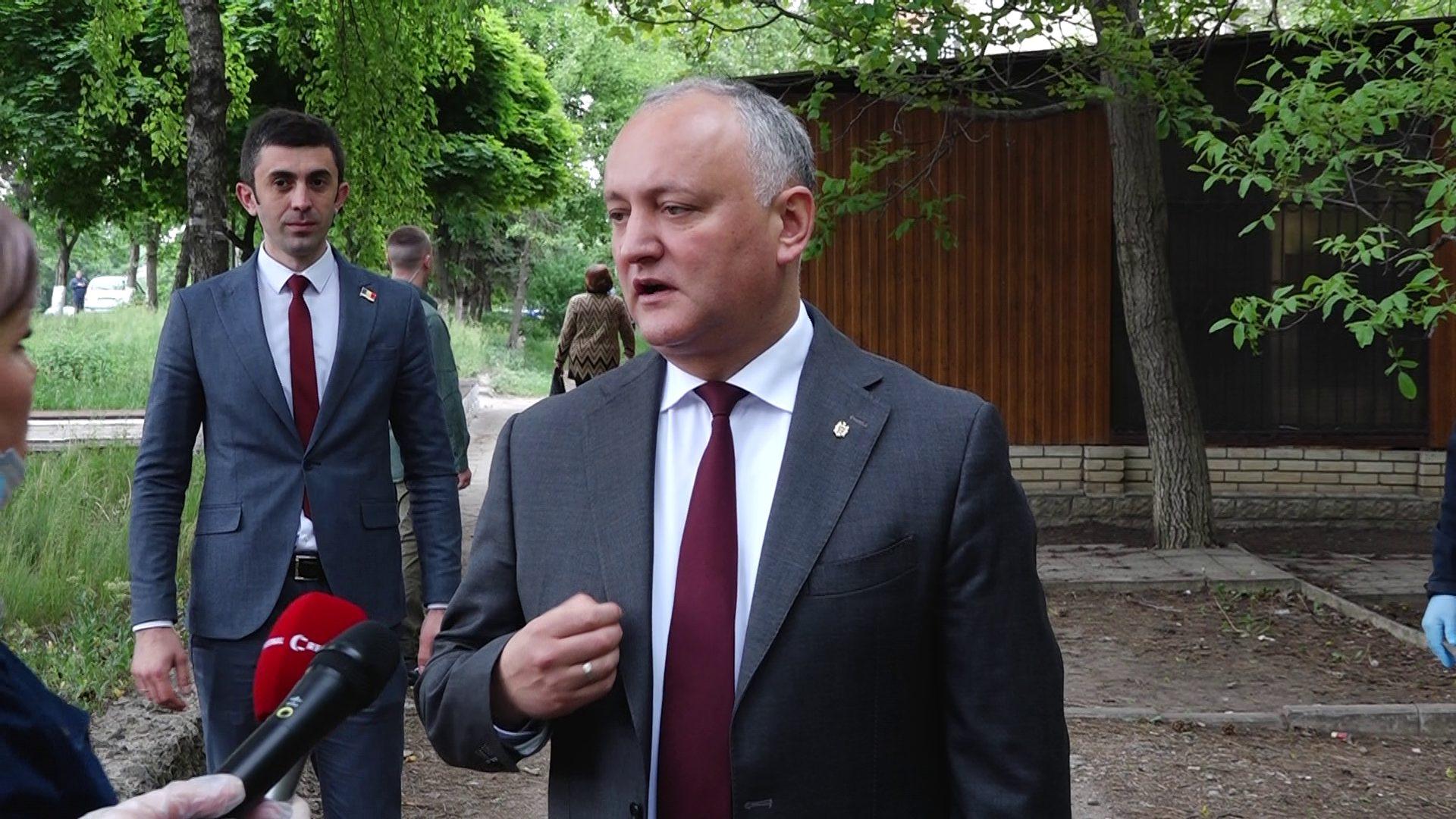 VIDEO | Igor Dodon are memorie scurtă. Președintele a uitat când a fost ultima dată la Bălți