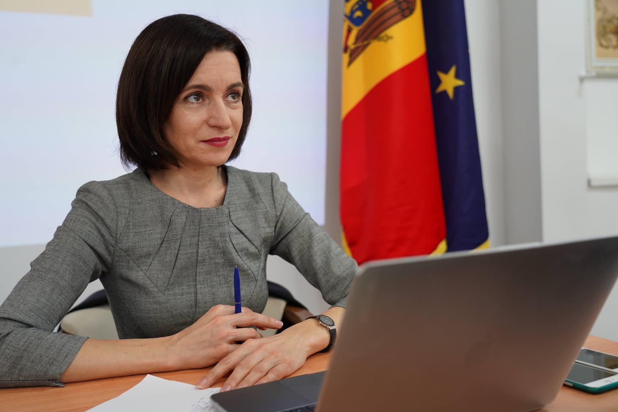 INTERVIU | Maia Sandu: R. Moldova are nevoie de un nou Guvern, format din oameni onești, integri și profesioniști