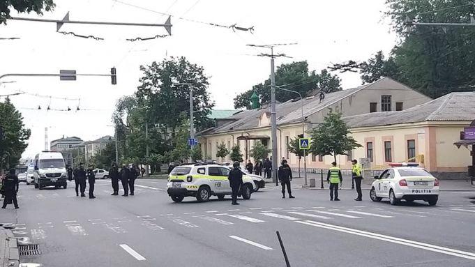 Alertă falsă cu bombă la Ambasada Federaţiei Ruse din Chişinău