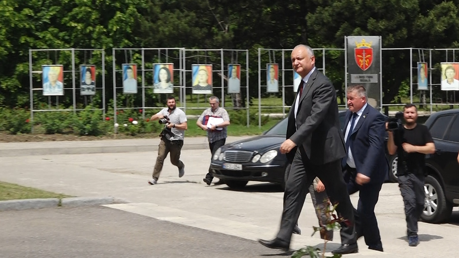 """VIDEO   Igor Dodon, """"alergic"""" la presa independentă din nordul țării. Domnule președinte, ce aveți cu jurnaliștii NordNews?"""