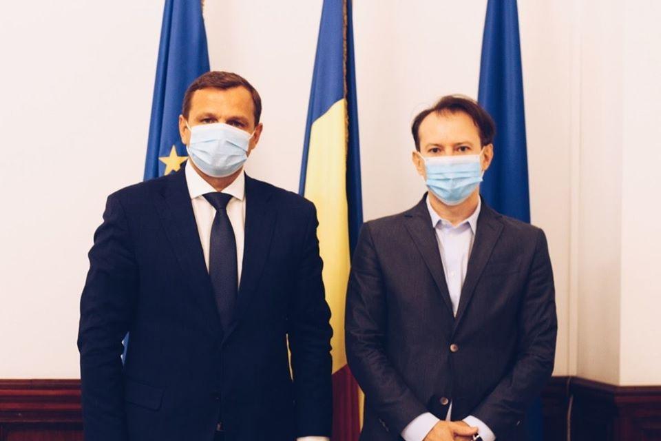 Ministrul român al Finanțelor Publice, Florin Cîțu: Am avut o întrevedere excelentă cu Andrei Năstase
