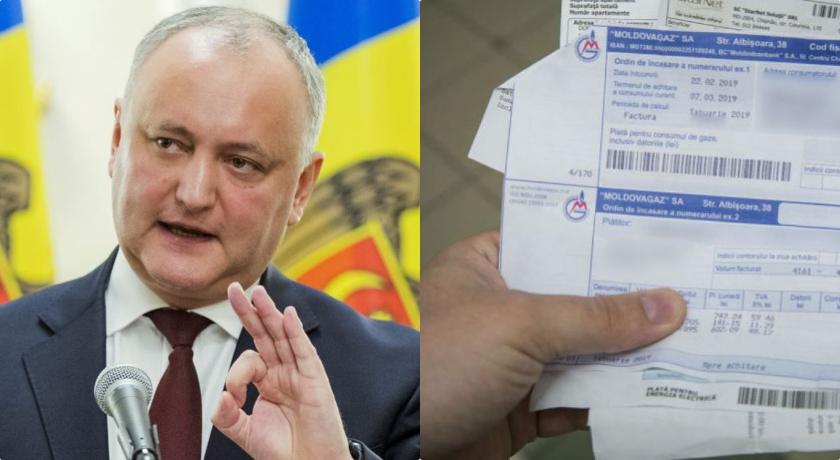 Voldemar Crețosu // Dodon leagă de gâtul moldovenilor datoria de 7 miliarde USD a Transnistriei pentru gaz și câștigă zeci de milioane de dolari pe spatele cetățenilor