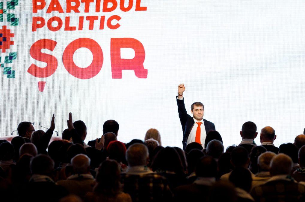 Al patrulea sondaj confirmă că Partidul ȘOR este a treia forță politică din Moldova