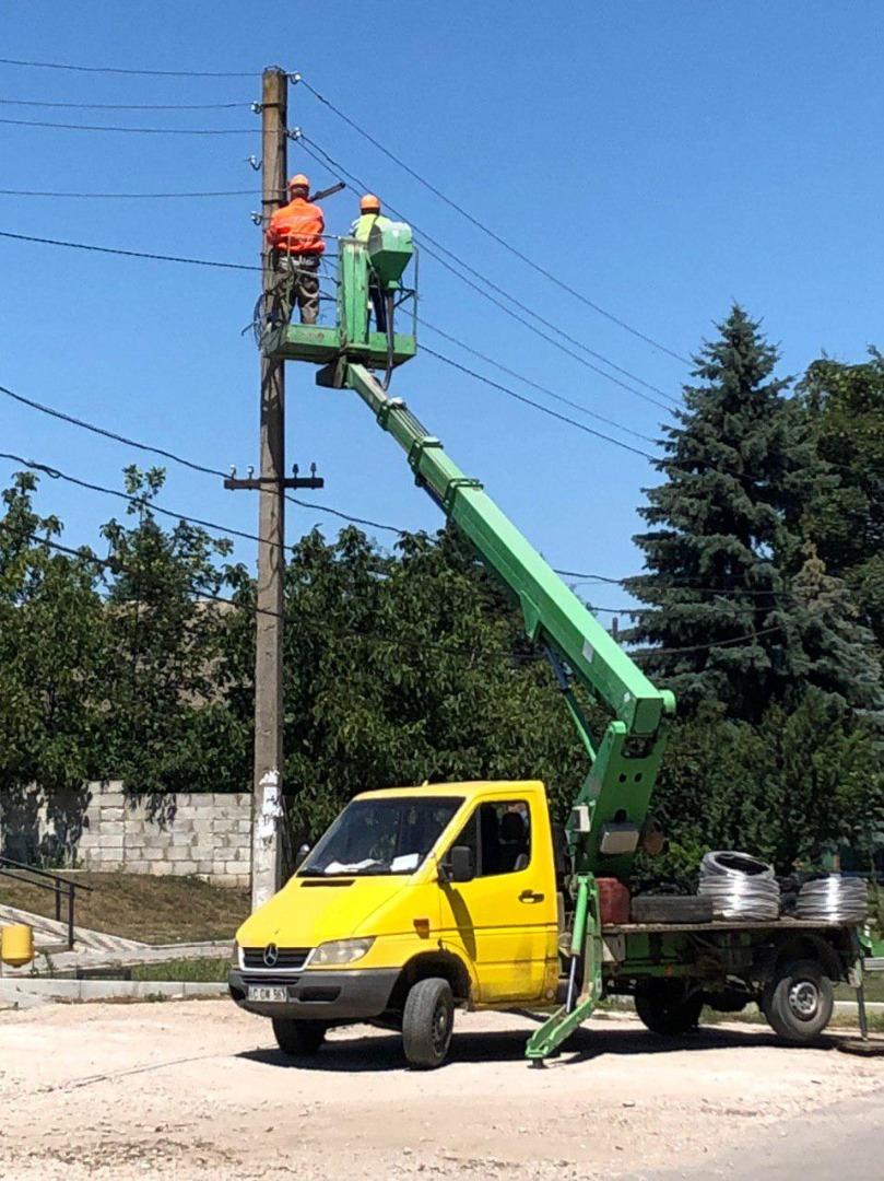 Partidul ȘOR a dat start lucrărilor de iluminare stradală în comuna Doina, raionul Cahul