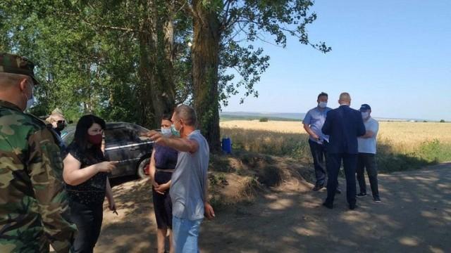 Viceprim-ministra pentru Reintegrare și ministrul Apărării au inspectat posturile ilegale instalate de Tiraspol de la Dubăsari