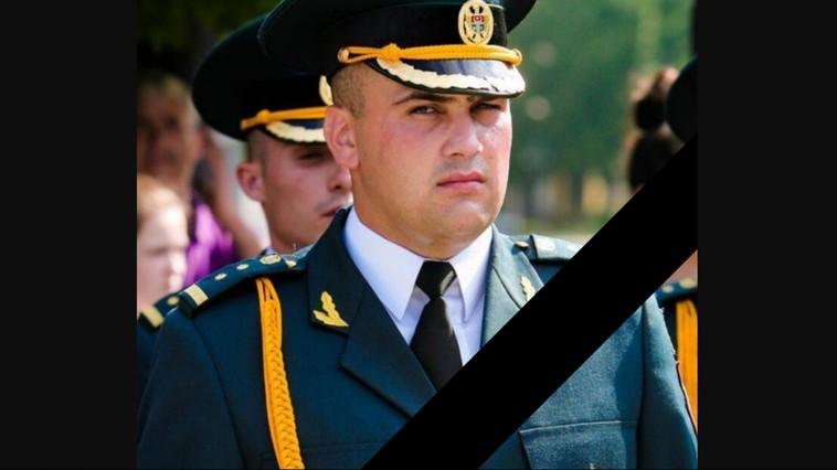 """Militarul Armatei Naționale care a murit din cauza unui accident de serviciu va fi decorat post-mortem cu medalia """"Bărbăție și Curaj"""""""