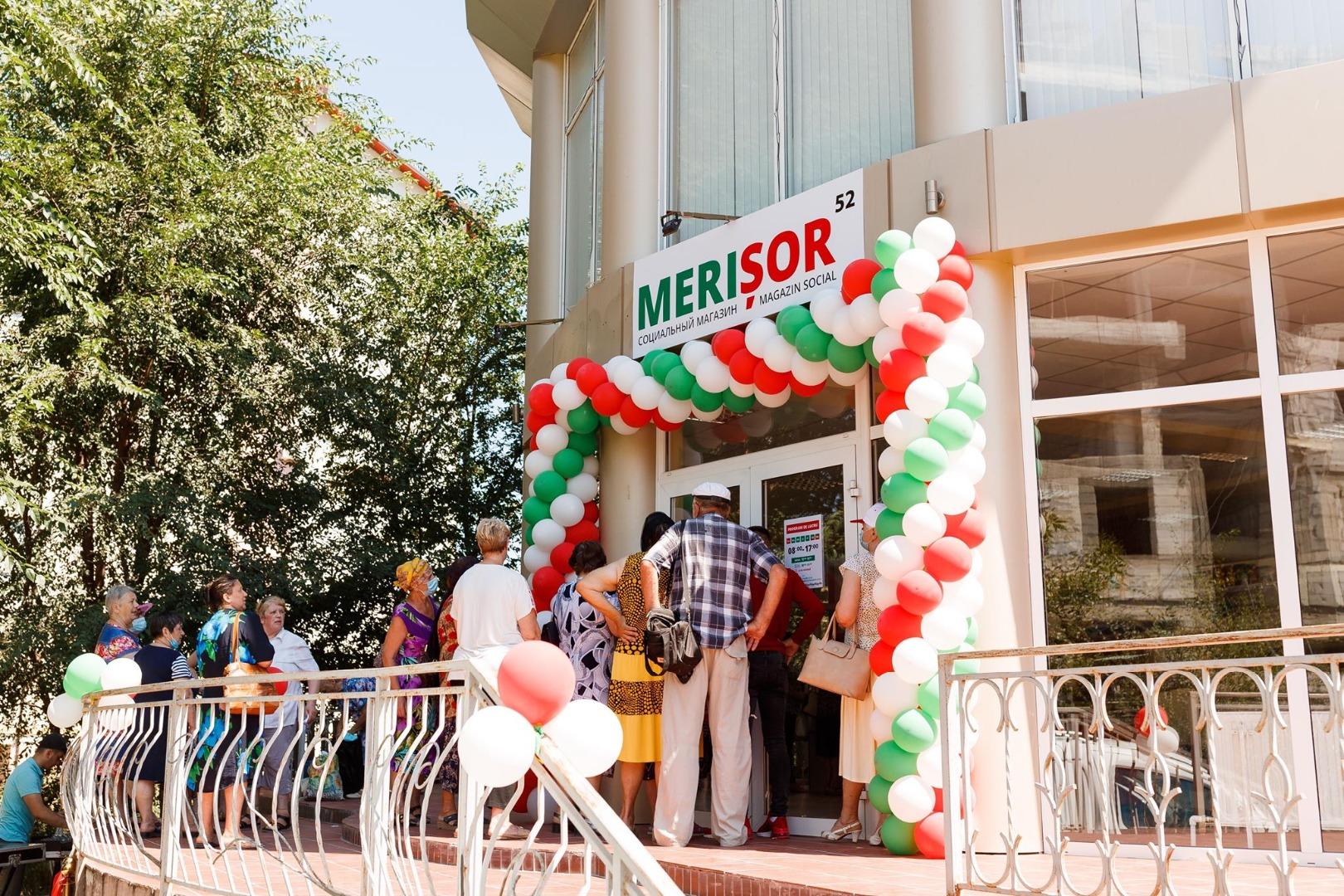 Partidul ȘOR a deschis la Cahul cel de-al 132-lea magazin din rețeaua Merișor
